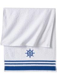 Handtuch mit Steuerradmotiv, bpc living bonprix collection