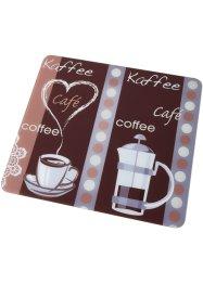 Universal Abdeckplatte mit Kaffeemotiv, bpc living bonprix collection