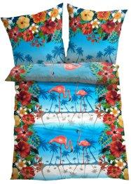 Bettwäsche mit Flamingo, bpc living bonprix collection