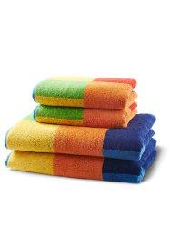 Handtuch mit quadratischem Muster, bpc living bonprix collection