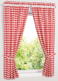Vorhang Set mit Druck (4-tlg-Set), bpc living bonprix collection