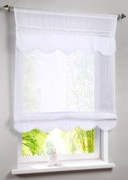 Bändchenrollo mit Häkelkante, bpc living bonprix collection