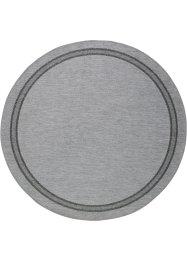 Runder In- und Outdoor Teppich mit Bordüre, bpc living bonprix collection