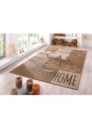 In- und Outdoor Teppich mit Sternen und Statement, bpc living bonprix collection