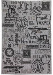 In- und Outdoor Teppich mit nostalgischen Motiven, bpc living bonprix collection