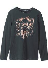 Langarmshirt mit Foliendruck, bpc bonprix collection