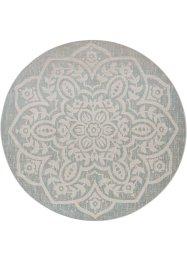 Runder In- und Outdoor Teppich mit großem Ornament, bpc living bonprix collection