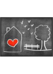 Fußmatte mit gezeichnetem Motiv, bpc living bonprix collection