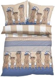Bettwäsche mit Erdmännchen, bpc living bonprix collection