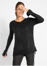 Oversize-Pullover mit Schlitz, bpc bonprix collection