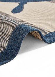 In- und Outdoor Teppich mit Steuerrad Motiv, bpc living bonprix collection