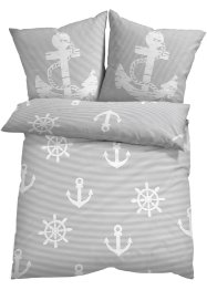 Bettwäsche mit maritimen Design, bpc living bonprix collection