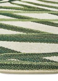 Runder In- und Outdoor Teppich mit großem Palmmotiv, bpc living bonprix collection