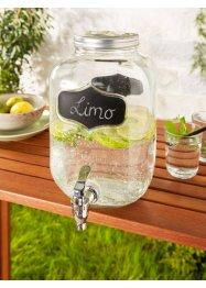 Getränkespender aus Glas mit Zapfhahn, bpc living bonprix collection