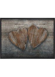 Fußmatte mit Herzmotiv, bpc living bonprix collection
