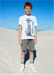 Sweat-Bermuda mit Taschen, bpc bonprix collection