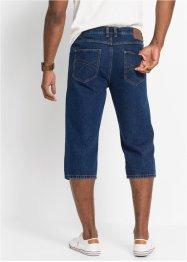 Jeans in 3/4 Länge mit seitlichem Dehnbund Classic Fit, John Baner JEANSWEAR