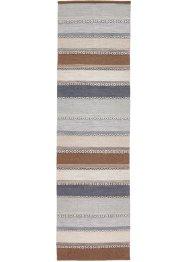 Kelim-Teppich mit Streifen in sanften Naturtönen, bpc living bonprix collection