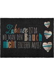 Fußmatte mit Schriftzug, bpc living bonprix collection