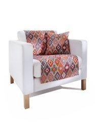 Sofaläufer mit Karo Design, bpc living bonprix collection