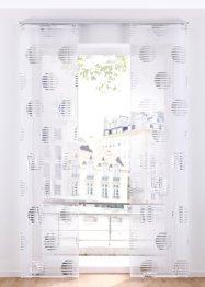 Schiebegardine mit Glanzdruck (1er Pack), bpc living bonprix collection