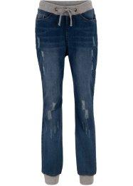 Komfort Boyfriend-Jeans mit Bequembund, bpc bonprix collection
