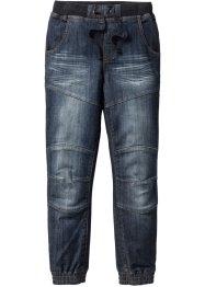Robuste Loose Fit Jeans mit verstärkter Kniepartie, John Baner JEANSWEAR
