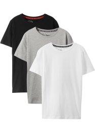 Basic T-Shirt (3er-Pack), bpc bonprix collection