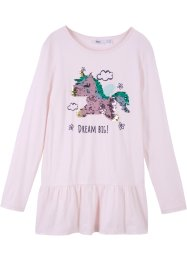 Langarmshirt mit Wendepailletten Einhorn, bpc bonprix collection
