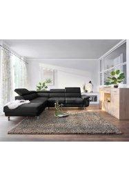 Hochflor Teppich einfarbig und vielseitig, bpc living bonprix collection