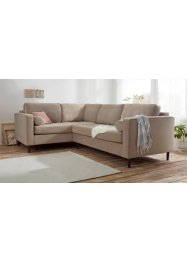 Ecksofa links mit Samtbezug, bpc living bonprix collection