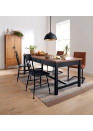 Stuhl mit Kunstlederbezug (2er Pack), bpc living bonprix collection