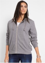 Basic Kapuzen-Sweatjacke, bpc bonprix collection