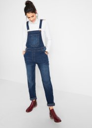 Jeans-Latzhose mit extra Weite, bpc bonprix collection