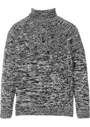 Rollkragen-Pullover mit Zopfmuster, bpc selection