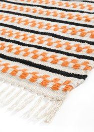 In- und Outdoor Kelim-Teppich mit Fransen, bpc living bonprix collection