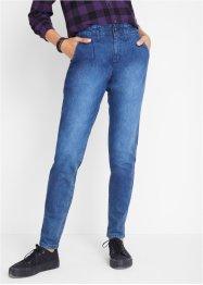 Stretch-Jeans mit extra hohem Bund, John Baner JEANSWEAR