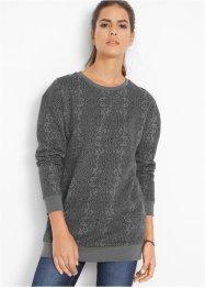 Long-Sweatshirt, bedruckt, John Baner JEANSWEAR