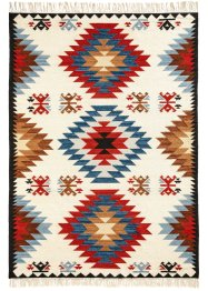 Kelim-Teppich mit grafischem Muster, bpc living bonprix collection