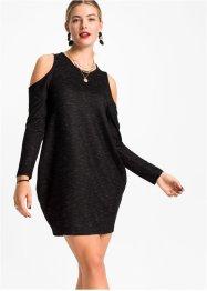 Cold-Shoulder-Kleid oversized, RAINBOW
