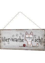 Türschild mit Katze, bpc living bonprix collection