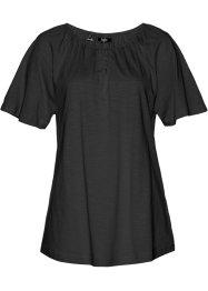 Baumwoll Flammgarn-Shirt, halbarm, bpc bonprix collection