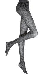 Strumpfhose mit Leomuster 50den, bpc bonprix collection