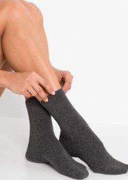 Socken mit druckfreiem Bündchen (4er Pack), bpc bonprix collection