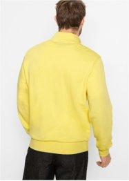 Sweatshirt mit Troyerkragen, bpc bonprix collection