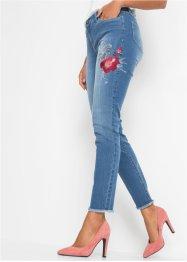 Stretch-Jeans mit Stickerei, BODYFLIRT