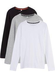 Langarmshirt (3er-Pack), bpc bonprix collection