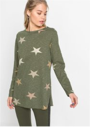 Langarmshirt mit Sternen