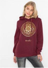 Sweatshirt mit Glitzerdruck