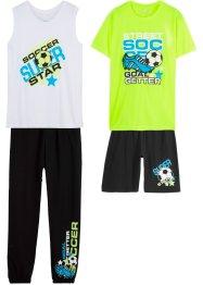 Sportoutfit (4-tlg. Set), bpc bonprix collection
